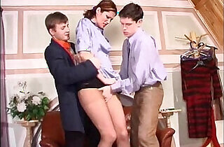 tall european secretary get roughed.  xxx porn