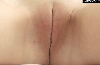 Dunja Kazimkina masturbating and showing pussy.  xxx porn