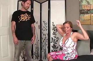 Boy Fucking not his Mom Huge Tits Milf.  xxx porn