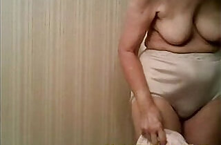 Spying my years old granny. Great view !.  xxx porn