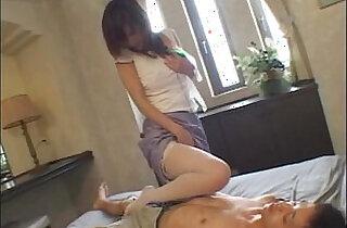 Japanese teacher fucks student Riko tachibana sex clip.  xxx porn