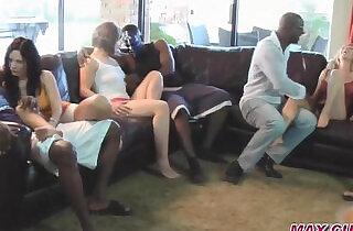 Cuckold wives in gangbang orgies bbc creampie.  xxx porn
