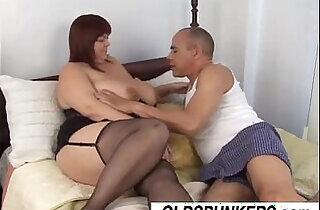 Beautiful big tits mature BBW Josie is a hot fuck.  xxx porn