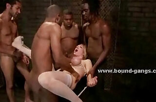 Maids brutal group video scene.  xxx porn