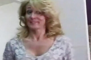 Old mother caught her son masturbating and fucked.  xxx porn