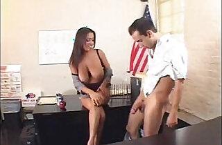 Alexis Silver Busty Teacher.  xxx porn