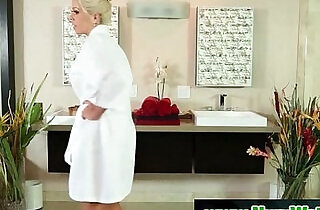 NuruMassage Son Fully Serviced by Step Mom.  xxx porn