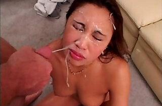 Miko Lee Cumshot Compilation.  xxx porn