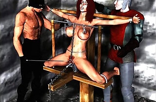Erotic Evil Bondage Artwork.  xxx porn