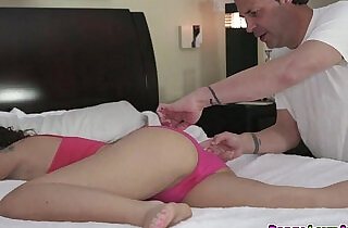Sophia Grace rides her asshole on top of dads cock.  xxx porn