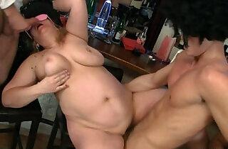 Hot bar orgy with plump bitches.  plump   xxx porn