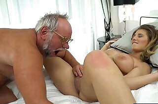 19 yo Aida Swinger pussy and ass eaten and banged by grandpa.  xxx porn