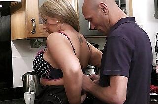 Cheating sex on the kitchen.  xxx porn
