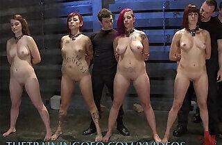 Four Slaves Get Trained.  xxx porn