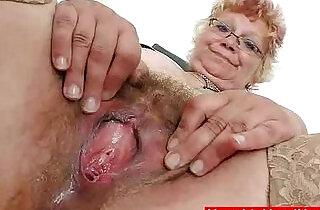 Woolly grandma unshaved twat closeups.  xxx porn