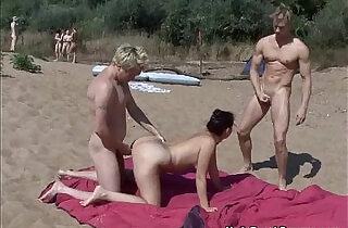 Nude beach swingers.  xxx porn