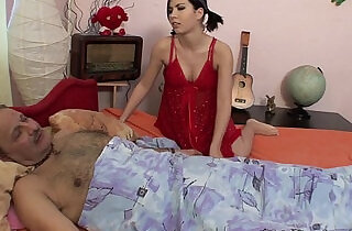 Sick Stepdaddy Sexually Nortured By His Stepdaughter.  step daddy  ,  step mommy   xxx porn
