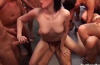 extreme groupsex bukkake party.  xxx porn