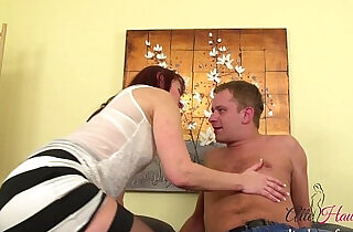 MILF fucked by younger Guy.  xxx porn