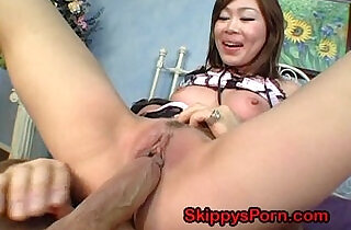 Hot Japanese creampie.  xxx porn