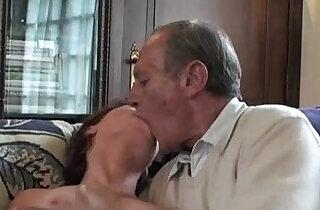 Granny foursome.  xxx porn