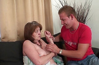 Old mother in law forced into taboo sex.  xxx porn