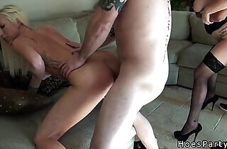 Sexy amateur cfnm babes orgy banged at party after body shots.  xxx porn