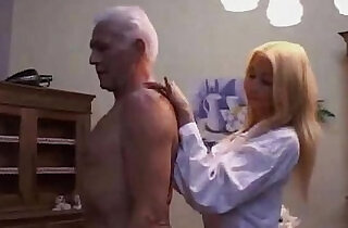 Hot Teen nurse seducing an Old patient.  xxx porn