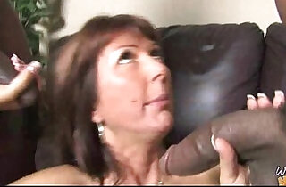 Huge Black Cock Destroys Amateur Housewife.  house wife   xxx porn