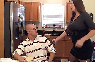 Madisin lee in milf mom helps son with his term paper blue balls.  xxx porn