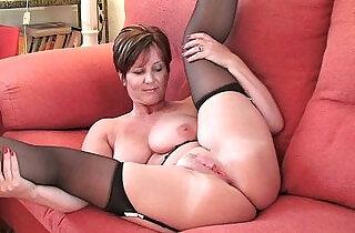 British milf Joy exposing her big tits and hot fanny.  xxx porn