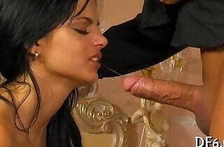 First time oral pleasure porn.  xxx porn