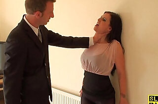 British sub dominated with his dick.  xxx porn
