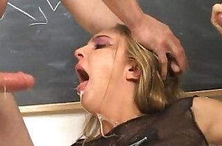 Swallowing Jizz During Recess.  xxx porn