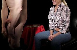 Cfnm femdom babe Phoebe Adams wins game.  sexual games   xxx porn