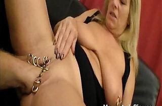 Heavily pierced cunt fisting.  xxx porn
