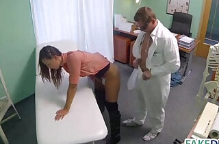 Married woman in a fake hospital.  xxx porn
