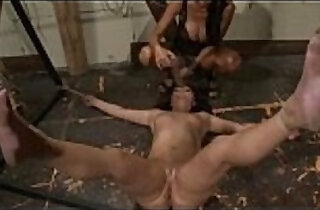 Fisting loving lez in fond of bdsm as she gets mouth fisted.  hornylesbo  ,  rope sex  ,  sapphic erotica   xxx porn