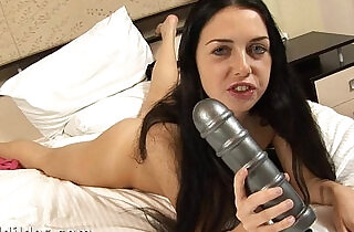 Anal queen Isabella riding a huge anal dildo.  inserted  ,  ride   xxx porn