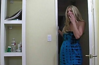 Mom teaches a blond teen how to fuck properly.  xxx porn