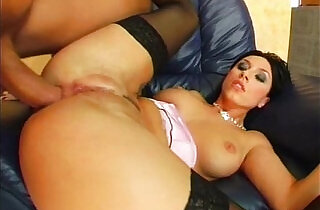 Ass Traffic Mercedes gets her butt pounded and swallows a cumshot.  xxx porn