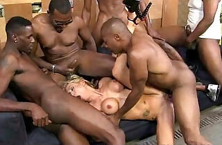 Big Dicks: Girl gets punished by a huge monster black monster cock