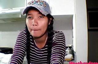 18 week pregnant thai teen deep nurse deepthroat throatpie creamthoat swallow cum.  xxx porn