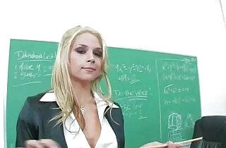 Sarah vandella head of the class.  xxx porn