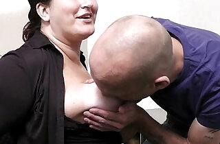 Office sex with boss and busty secretary.  xxx porn