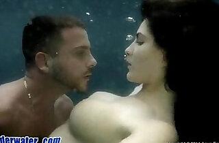 Busty Babe sucks and Fucks Underwater.  xxx porn
