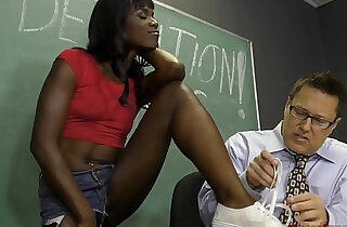 Black Student Seduces Her Teacher Into Becoming Her Slave Ana Foxxx Femdom.  sex teacher  ,  slaves  ,  studs   xxx porn