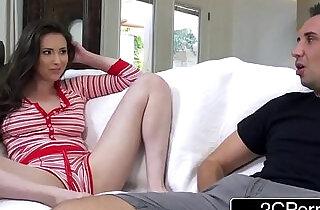 Stepbrother Sharing His Stepsister Casey Calvert With Best Friend.  xxx porn