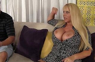 Voluptuous MILF Has Sex With Step son!.  xxx porn
