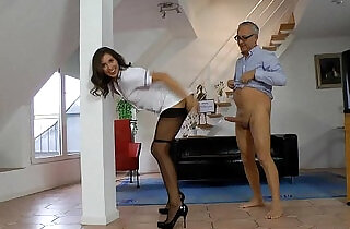 Brunette bitch gets fingered and fucked and jizzed.  xxx porn
